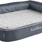 Knuffelwuff - Un lit d'angle pour chien orthopédique - Arizona 83cm x 63cm gris de la marque Knuffelwuff image 1 produit