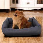 ongmics Panier lit chien Dog Bed Coussin Matelas Pour Chien Animaux XL 100x70x28cm PGW28G de la marque Songmics image 6 produit