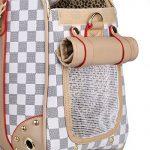 Sac de transport pour chiens sac pour chats sac de voyage grand sac de transport pour animal domestique jusqu'à 5 kg 40*30*20 cm de la marque BELLAMORE image 5 produit