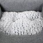 Songmics Panier pour lit chien Dog Bed Coussin Matelas 60 x 50 x 22 cm PGW22G de la marque Songmics image 6 produit